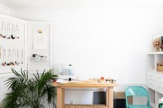 In an impeccably organized home studio in Atlanta, this Etsy seller makes bold accessories inspired by her Caribbean roots.