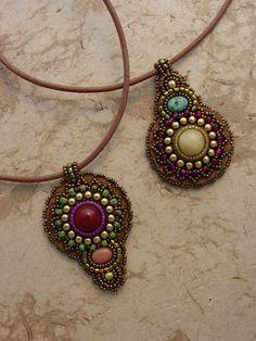 pendants by Heidi Kummli