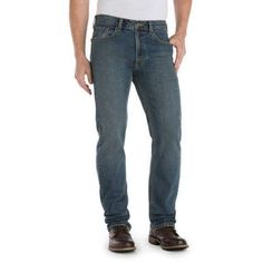 Signature by Levi Strauss & Co. Men's Straight Fit Jeans, Size: 36 x 30, Multicolor
