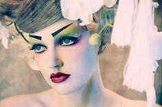 Porcelain Geisha Doll Shoots : Amato Haute Couture