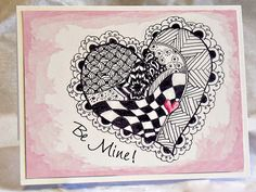 Zentangle Hearts Instructions | Speak Your Mind Cancel reply
