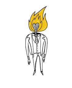 Foster The People- Torch Head