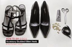 You can make your heels look like that without putting much effort. You just need an old pair of shoes and take the leather material from them. Then stud a pair of shoes and sew it the leather straps on. Your new heels One hair Doesn't summer link ! –[...]