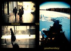 Day 11 (03.02.2011) - Changes of life    Or weather....     The huge difference between today and yesterday weather really amazes me.    Luckily, I had a long walk yesterday with the sunny and nice weather (and short walk today :P ).     well....once again....realized that it's really important to enjoy every moment you have in life since you never know what will happen next...