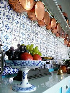 Detail Monet kitchen