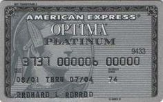 American Express PLATINUM (American Express, USA) Col:US-AE-0001