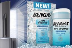 @Influenster you'll want  Simple, Quick Pain Relief with BENGAY® Zero Degrees. #NeoReady