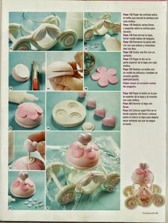 C Steele Collection Porcelain China Polymer Clay Recipe, Polymer Clay Dolls, Cold Porcelain Tutorial, Cold Porcelain Flowers, Chocolate Diy, Clay Jar, Kids Clay, Fondant Toppers, Fondant Figures