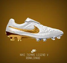 Nike Tiempo Legend Ronaldinho: cuando el fútbol es arte