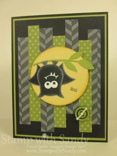 Owl Punch Bat by stampwithsandy - Cards and Paper Crafts at Splitcoaststampers