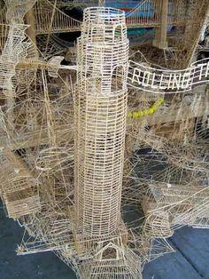 Toothpick Sculpture awesome toothpick sculpture | art | pinterest | toothpick