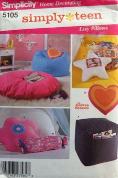 Butterick 5105 Teen Room Accessories