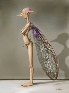 A very unusual fairy.