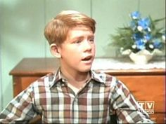 little Opie from Andy Griffith Show! love him