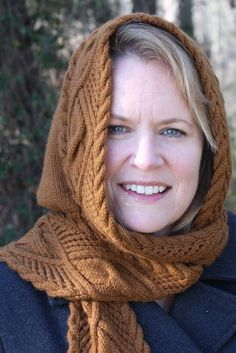 Knit Picks just released my Lace & Cable Hooded Scarf! ) The lace & cable scarf has a hood built in for style and warmt… Hooded Scarf Pattern, Crochet Hooded Scarf, Knit Or Crochet, Crochet Scarves, Scarf Knit, Free Crochet, Lace Knitting Patterns, Knitting Blogs, Hood Pattern
