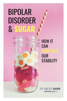 A spike in blood sugar can mimic the physical symptoms of like increased heart rate, sweating, confusion and irritability. Compulsive Disorder, Panic Disorder, Bipolar Disorder, Symptoms Of Bipolar Depression, Fighting Depression, Depression Help, Depression Quotes, Bipolar Awareness, Health Anxiety