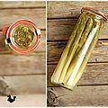 Profiter des asperges vertes ... Asparagus, Preserves, Bubbles, Food Porn