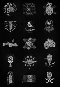 Prints & Logos on Behance by BMD
