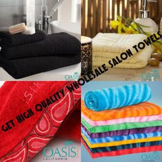 Keeps your Salon Business Running Smooth with Wholesale Salon Towels!