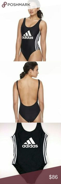 6309a5db41a78 Adidas one piece Low back adidas Swim One Pieces Low Back