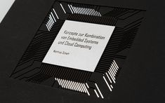 Bachelor's thesis by Matthias Schett Cloud Computing, Mirrors Film, Cover Pages, Thesis, Products, Gifts
