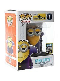 Funko Pop Minions Gone Batty 2015 Summer Convention Exclusive (kids) Pop Minion, Minions, Funko Pop Figures, Pop Vinyl Figures, Latest Cartoons, Geek Toys, Pop Figurine, Funko Toys, Pop Toys