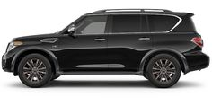 Nissan USA Official Site: View interior and exterior photos, accessories and color options for the 2018 Nissan Armada. Suv Cars, Jeep Cars, Jeep Truck, Nissan Suvs, New Nissan, Nissan Patrol, Nissan Pathfinder, Japanese Cars, Future Car