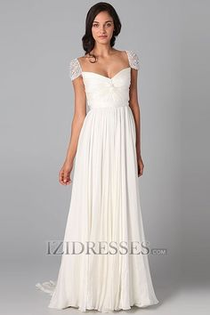 A-Line  Sheath/Column Off-the-shoulder  Sweetheart Chiffon Evening Dress