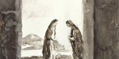 Un peintre chrétien à la rencontre de Marie   L'œuvre du peintre contemporain chrétien, François-Xavier de Boissoudy, raconte en particulier l'histoire de la Vierge Marie et de la sainteté. Il vient d'exposer son œuvre à la Galerie Guillaume à Paris (France) ; l'exposition s'est terminée le 3 juin 2017. Depuis sa rencontre avec le Christ, en 2004, le peintre s'attache à faire voir le sacré et la lumière dans son art grâce à la technique au lavis d'encre.