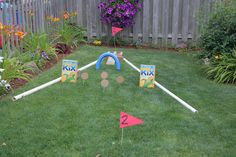 Mini Golf in the Backyard