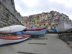 #CinqueTerre, Italy -  I like the composition and colours in this photo. We added it to our favourite Travel Shots of the Week on canada.com