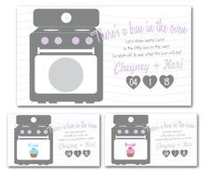 Custom Made Baby Shower Scratch offs - Gender Announcment Scratch offs