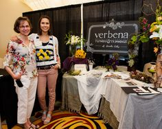 Verbena Flowers and Trimmings booth at April Folsom Bridal Show