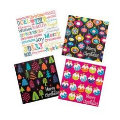 Black And Bright Glitter Christmas Cards 20 Pack - bit of a retro look to them and again, Christmas Themes, All Things Christmas, Christmas Cards, Rudolph Christmas, Christmas Wrapping, Christmas Inspiration, Winter Holidays, Greeting Cards, Merry