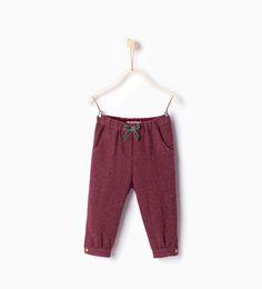 Image 1 de Pantalon à lacet de Zara