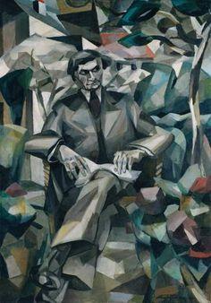 Portrait of Jacques Nayral, 1911, Albert Gleizes
