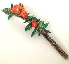 Pomegranate art by TALITTA on Etsy