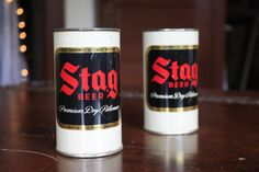 2 1950's Stag Beer Collectible Mugs. $38.00, via Etsy.