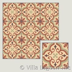 Encaustic Tiles for England, Ireland, Wales, Scotland, Europe, Middle East