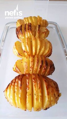 Fırın Poşetinde Yelpaze Patates – Nefis Yemek Tarifleri – Sandviç tarifi – Las recetas más prácticas y fáciles Turkish Recipes, Asian Recipes, Mexican Food Recipes, Healthy Recipes, Ethnic Recipes, Healthy Food, Delicious Recipes, Potatoes In Oven, Tasty