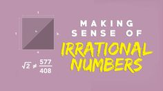 View full lesson: http://ed.ted.com/lessons/making-sense-of-irrational-numbers-ganesh-pai Like many heroes of Greek myths, the philosopher Hippasus was rumor...