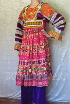 #Afghan #Kuchi #dress