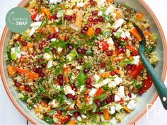 Veggie Recipes, Lunch Recipes, Salad Recipes, Vegetarian Recipes, Dinner Recipes, Healthy Recipes, Couscous Salat, Bulgur Salad, Healthy Diners