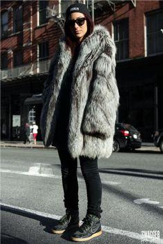 Fur + Nike