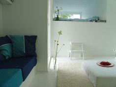 Living Space, Bedroom, Casa Kolonihagen in Stavanger, Norway by Tommie Wilhelmsen