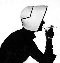 Photographed by Irving Penn. Vogue 1952