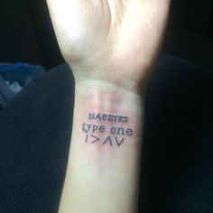 """""""19.03.07 I am better than high and low #diabetestattoo #type1diabetes…"""