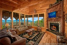 Lovers Loft 1 Bedroom Cabin for Rent in Pigeon Forge TN