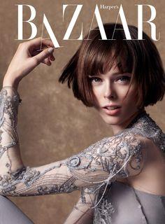 Coco Rocha by Natth Jaturapahu for Harper's Bazaar Thailand October 2014