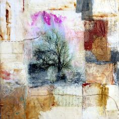 Aftermath by Bridgette Guerzon Mills. Oh, how I love the encaustic feel and style of her work.